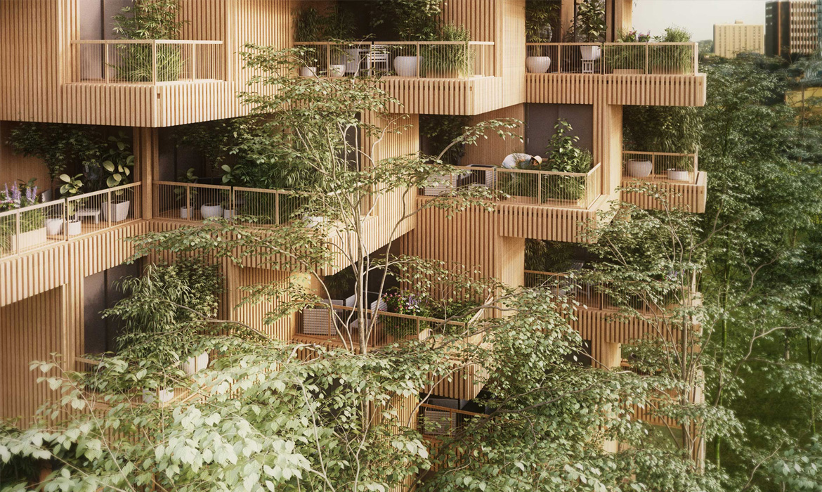 Sustainable Architecture Feature